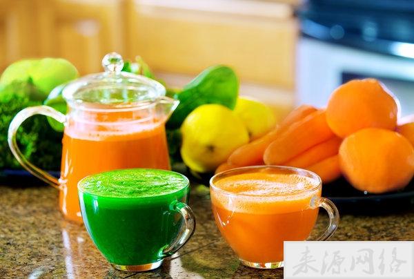 每天一杯胡萝卜汁,可以收获5大好处