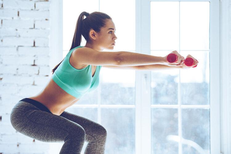 推荐一个减肥好运动:深蹲!增肌减肥一步到位